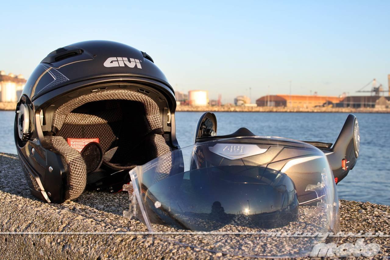 Foto de GIVI X.09, prueba del casco modular convertible a jet (28/38)