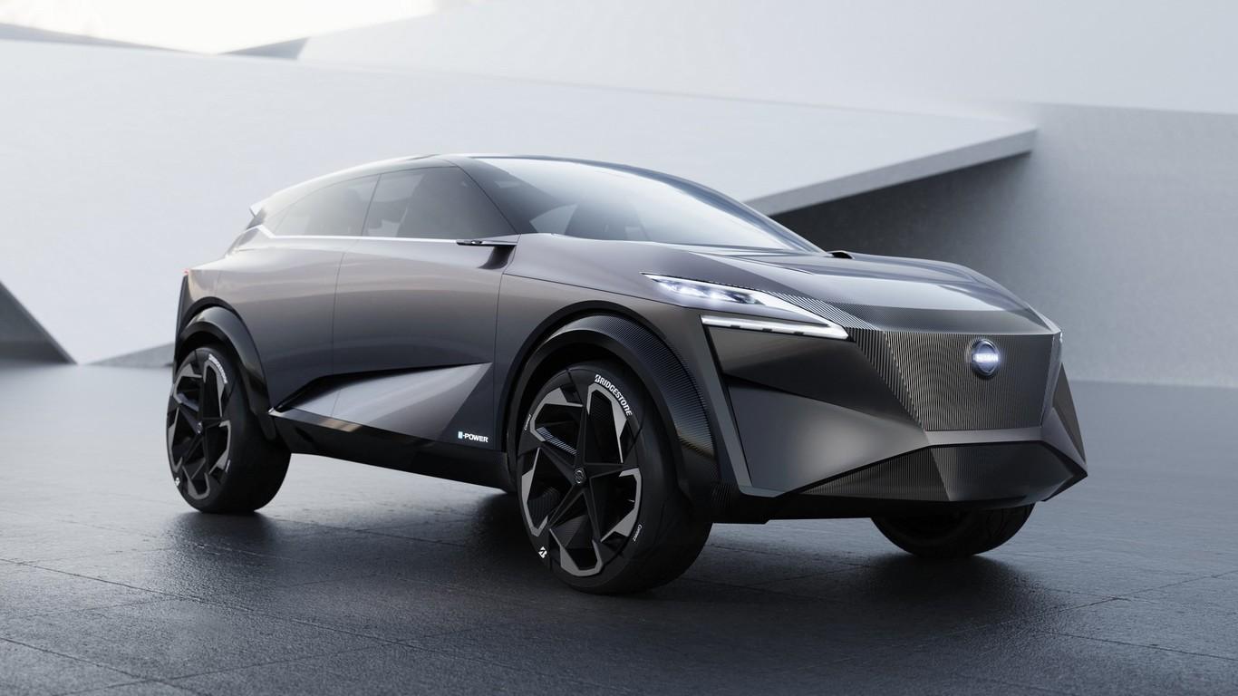 Nissan IMq Concept  un SUV eléctrico de autonomía extendida que podría ser  un adelanto del Qashqai 5667664b9d22