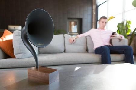 Gramovox, el altavoz inalámbrico para nostálgicos del gramófono