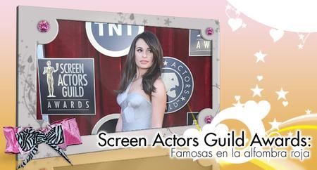 Screen Actors Guild Awards: Y seguimos con esta pedazo de alfombra roja