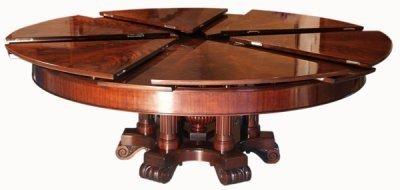 La gran mesa plegable