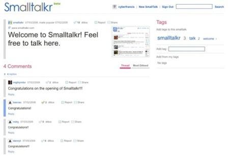 SmallTalkr, donde comienza el debate