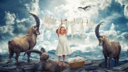 Un padre consigue que su familia viva increíbles aventuras gracias al Photoshop