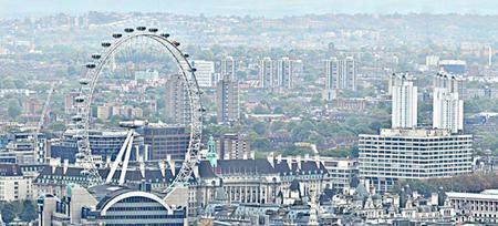 Los 320 Gigapíxeles de una gran panorámica esférica de la ciudad Londres