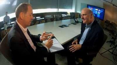 Ballmer anuncia que está en camino nuevo hardware de Microsoft en una entrevista para la BBC