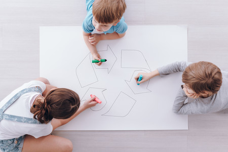 'Es tiempo de reciclarse', la web con recursos educativos para que los niños se diviertan reciclando durante la cuarentena
