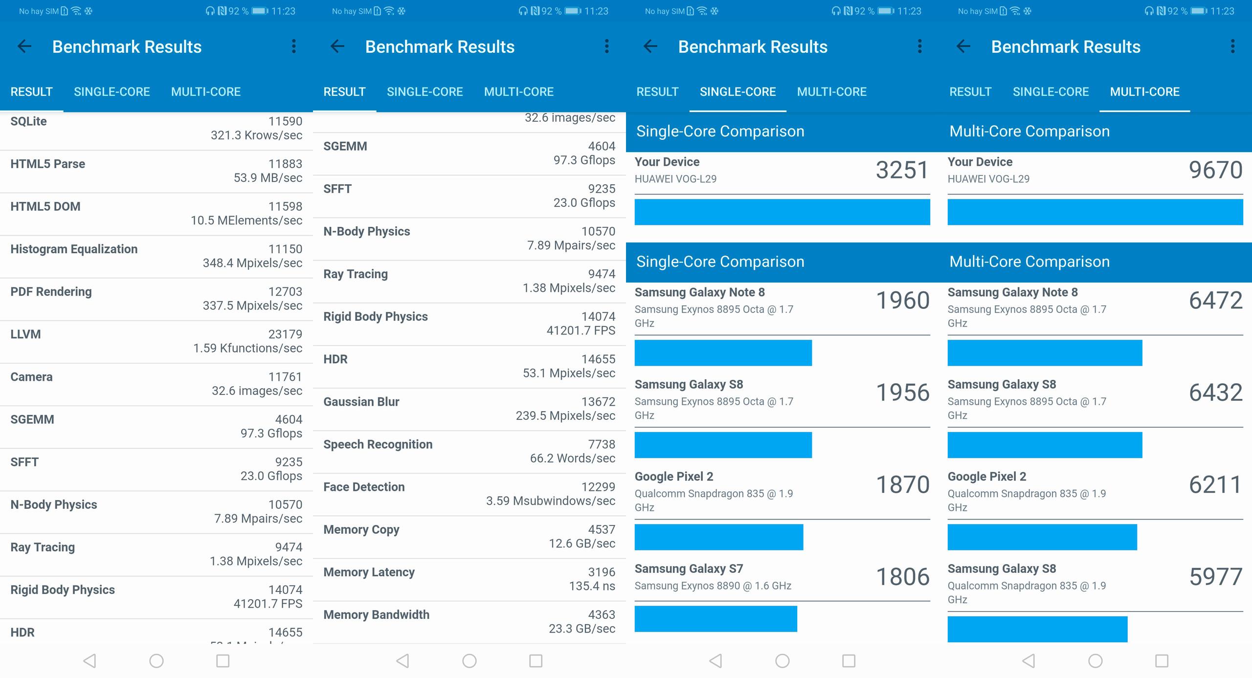 Foto de Huawei P30 Pro, benchmarks (3/5)