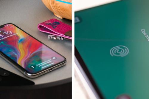 Al final, Apple tomó la decisión correcta al elegir Face ID en vez de los sensores dactilares en pantalla