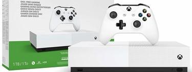 [AGOTADA] La mejor oferta del Cyber Monday y el Black Friday sigue activa: Xbox S All Digital  y 3 juegos por 99 euros en Media Markt