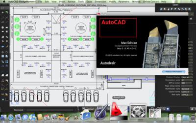 AutoCAD Sledgehammer Beta 3 para Mac liberado