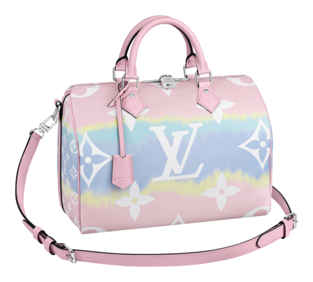 Speedy 30 Bandouliere Lv Escale In Monogram Giant Canvas