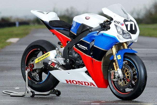 Honda CBR1000RR del equipo TT Legends