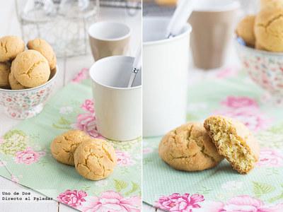 Pastas rápidas de mantequilla y mandarina. Receta