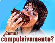Un 40%  de los obesos españoles, lo son por los atracones