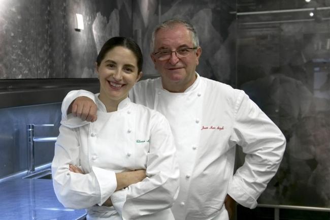 Elena y Juan Mari Arzak