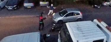 Este vídeo es la demostración gráfica de lo hartos que están los ingleses de los ladrones de motos