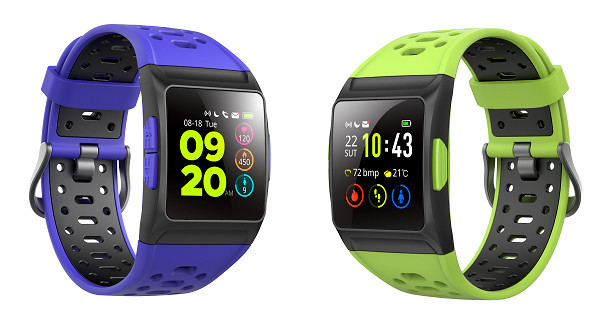 Smartee Feel and Smartee Stamina, two new smartwatches with sporty design and water resistance
