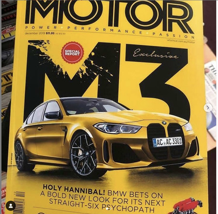 ¡Filtrado! El BMW M3 podría llevar la parrilla más controversial que hemos visto últimamente
