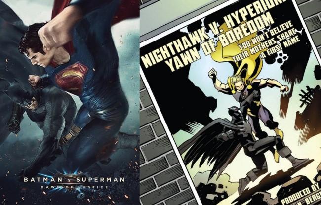 Batman v Superman y la parodia de Marvel