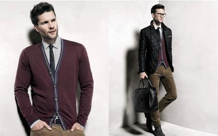 Burgundy en Mango Lookbook Otoño