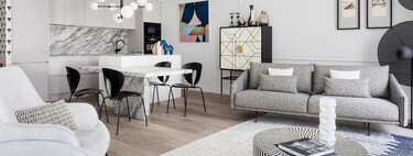 Osadía con estilo en este bonito piso de San Sebastián