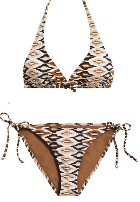 bikini animal print H&M
