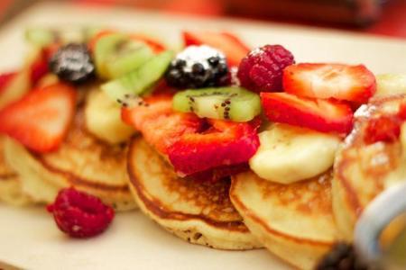 Resultado de imagen para desayuno nutritivo hot cakes