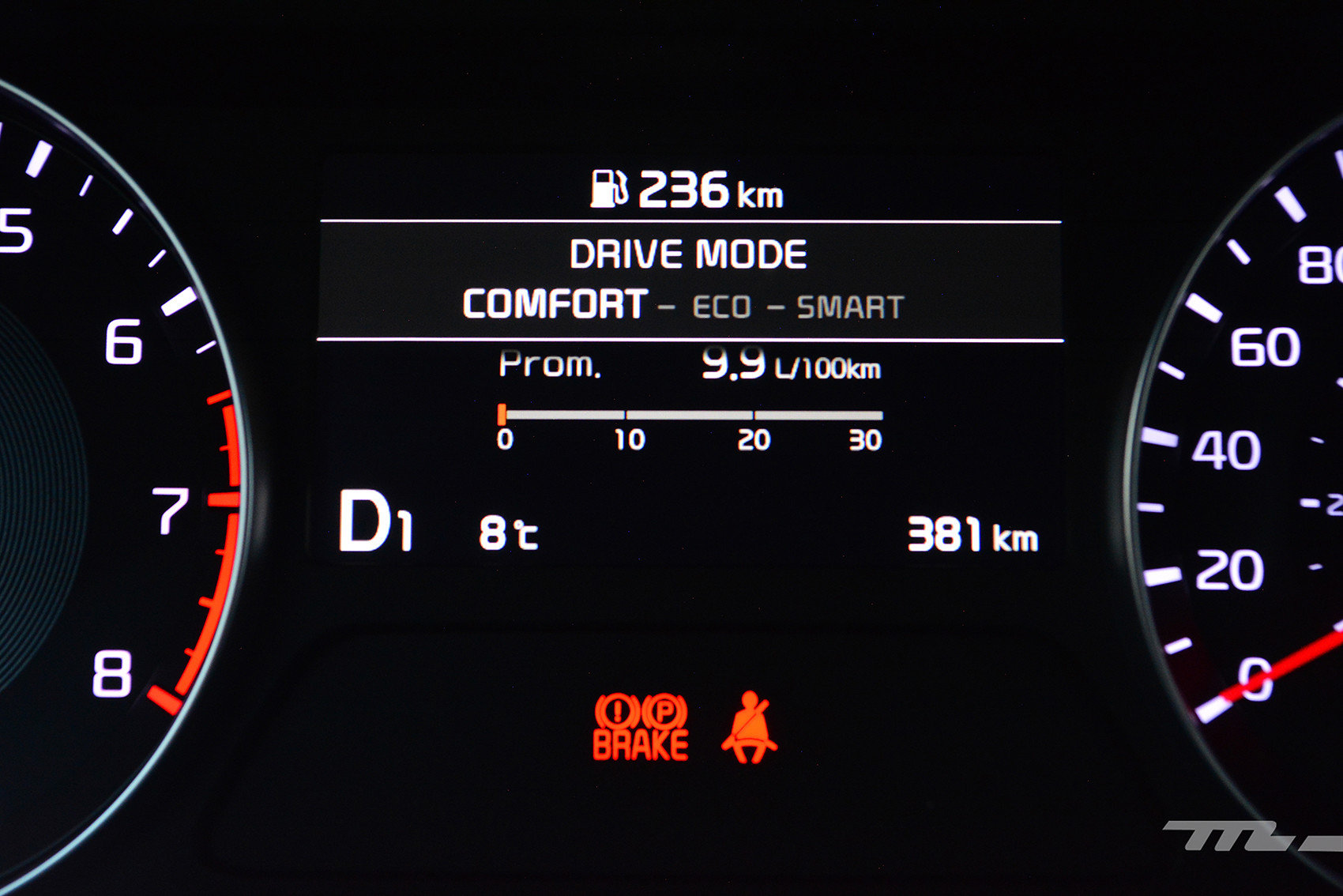 Foto de KIA Forte GT Hatchback (prueba) (18/23)