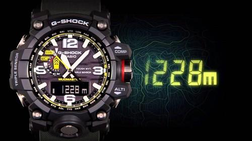La fuerza extrema del reloj G-Shock Mudmaster