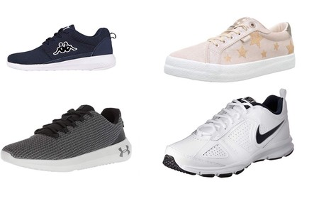 Chollos en tallas sueltas de zapatillas Nike, Mustang, Kappa y Under Armour en Amazon