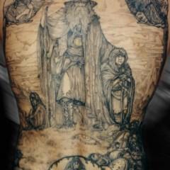 Foto 1 de 15 de la galería tatuajes-de-tolkien en Papel en Blanco