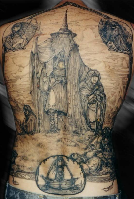 Foto de Tatuajes de Tolkien (1/15)