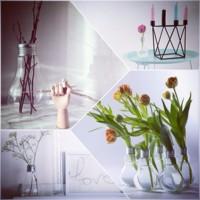 Cinco originales jarrones para llenar de flores tu casa