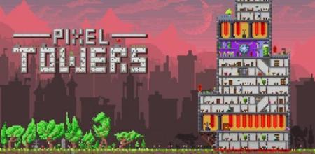 Crea rápidamente una torre al estilo retro con Pixel Towers