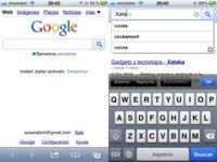 Google Instant llega a los móviles de España