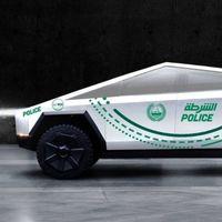 Tesla Cybertruck se une a la policía de Dubai