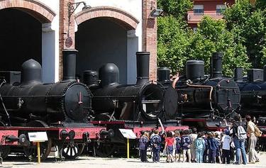 """""""Museu del Ferrocarril"""", en Vilanova i la Geltrú"""