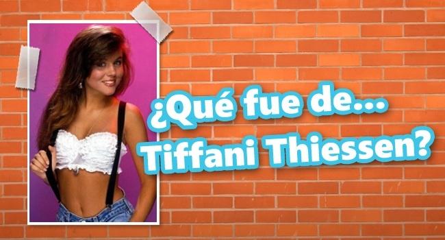 Que fue de tiffani thiessen