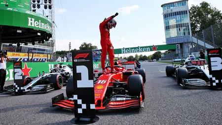 Leclerc Monza F1 2019
