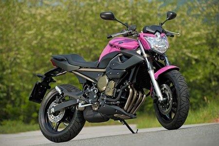 Yamaha XJ6 Rosa Italia, la horterada del año