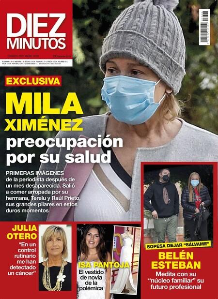 Mila Ximénez Portada Diez Minutos