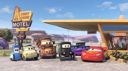 Cars y su corto animado en Disney+