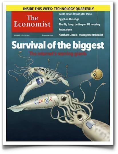 La guerra de los gigantes de internet, la prensa escrita y el viejo conglomerado mediático