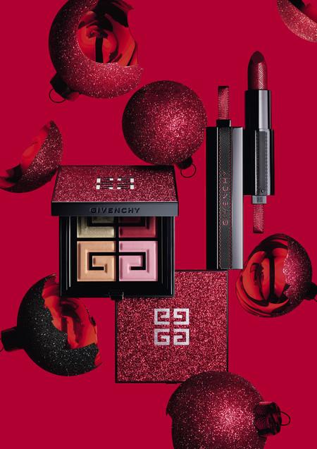 Looks con mucho rojo. Ésta es la propuesta de Givenchy para esta Navidad con su colección de maquillaje en edición limitada