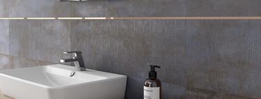 Nuevos formatos y texturas amplían las posibilidades decorativas para el baño