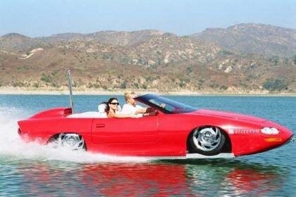 WaterCar Camaro, el muscle car anfibio