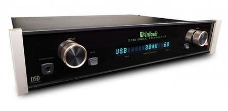 McIntosh ha sacado de su chistera en el CES un nuevo DAC audiófilo «económico»: el D150