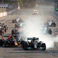 Lewis Hamilton se equivocó de botón en Bakú y arruinó sus opciones de ponerse líder del mundial de Fórmula 1