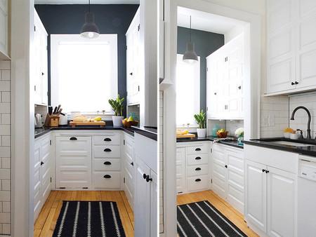 Antes y despu s transformando la cocina sin cambiar los for Como reformar una cocina