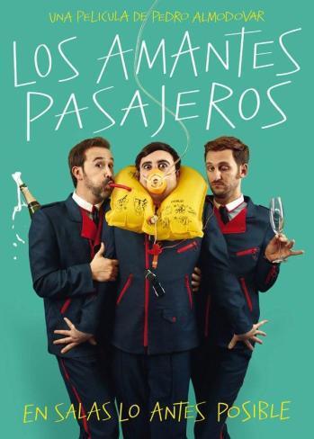 El póster español de Los Amantes Pasajeros